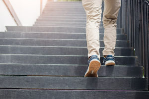 walking the stairs lifestyle advice Richardson